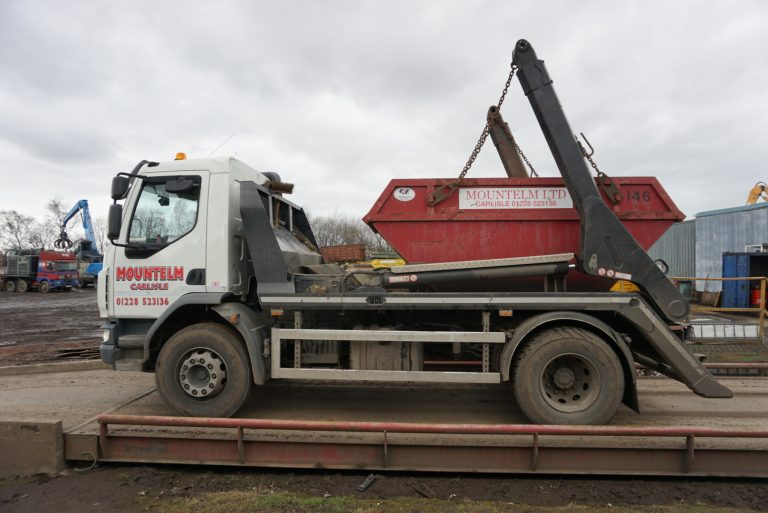 Skip and vehicle collection - Cumbria